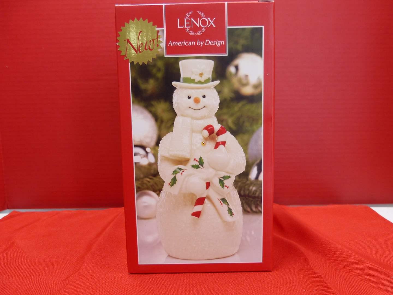 Lot # 131  Lenox Christmas Snowman (main image)