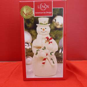 Lot # 131  Lenox Christmas Snowman