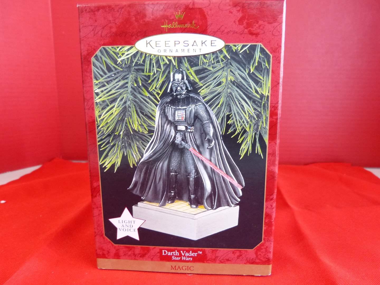 "Lot # 168  Hallmark Keepsake Star Wars ""Darth Vador"" ornaments (main image)"