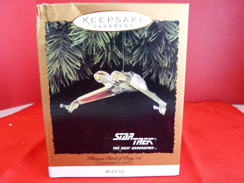 """Lot # 169  Hallmark Keepsake Star Trek """"Klingon Bird of Pray"""" ornament (NEW)"""