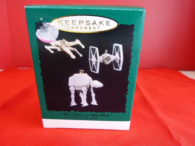 Lot # 170  Hallmark Keepsake Star Wars miniature ornaments (main image)