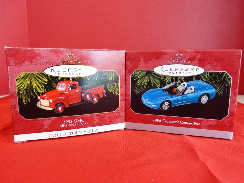 Lot # 175  Hallmark Keepsake 2 great car ornaments (main image)