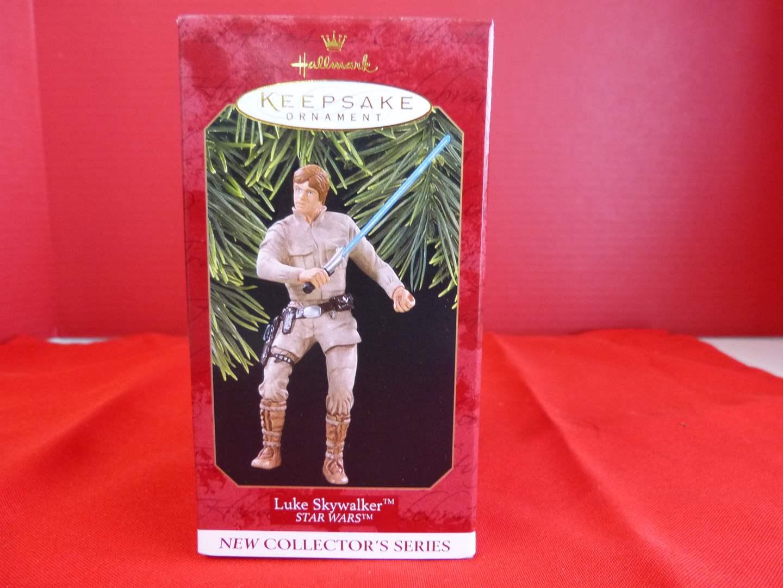 "Lot # 176  Hallmark Keepsake Star Wars ""Luke Skywalker"" ornament (main image)"