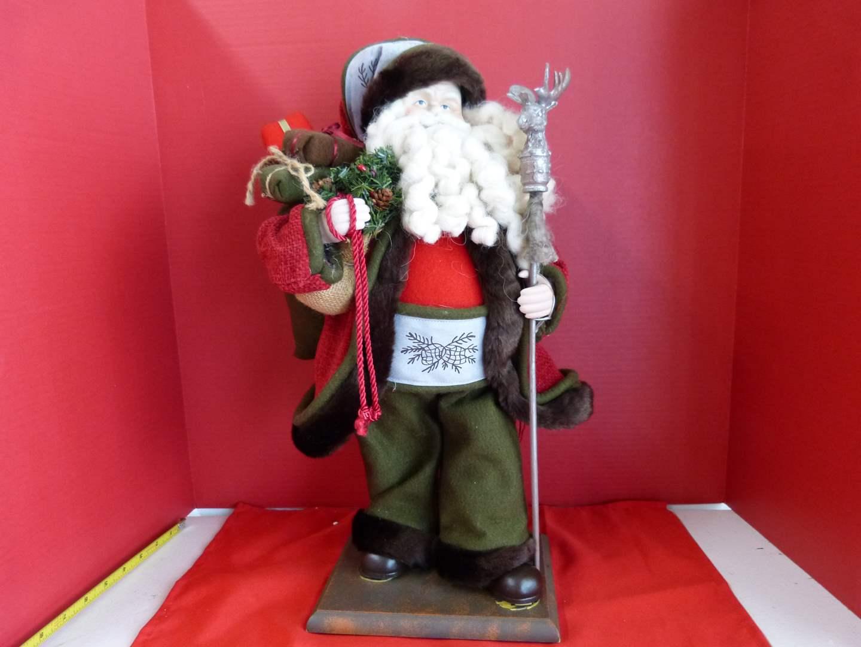 Lot # 194  Large Vintage style Santa (main image)