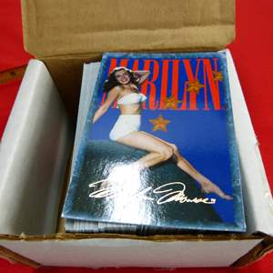 Lot # 221  Complete set of Marilyn Monroe pin-up cards