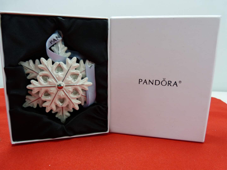 Lot # 247  Great holiday PANDORA ornament (main image)