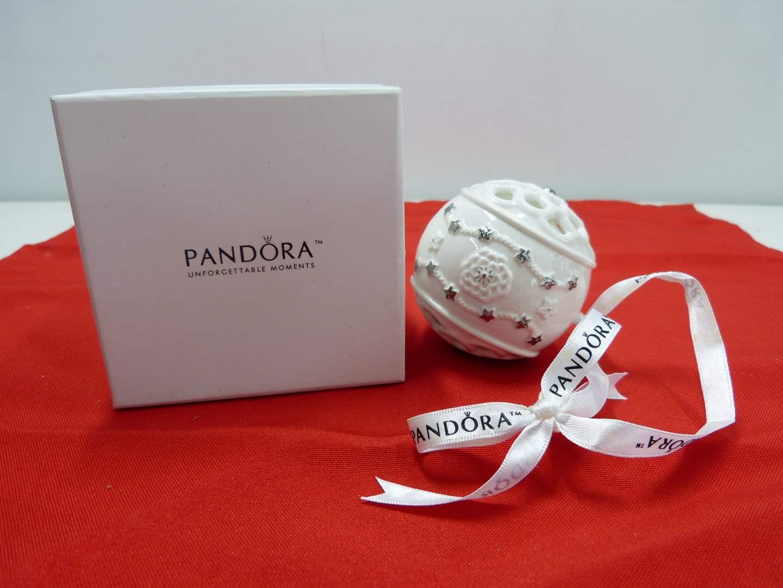 Lot # 250   Great holiday PANDORA ornament (main image)