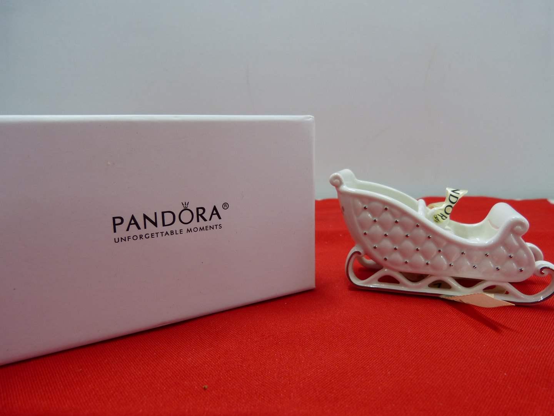 Lot # 251   Great holiday PANDORA ornament (main image)