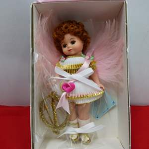 "Lot # 264  Vintage Madame Alexander NEW doll ""Cupid"""