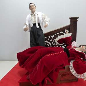 """Lot # 271  Gone with the Wind Dolls to include Scarlett & Rhett """"Night of Passion"""""""