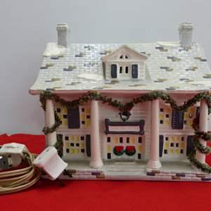 "Lot # 272  Dept 56 ""Cumberland House"" w/Light"