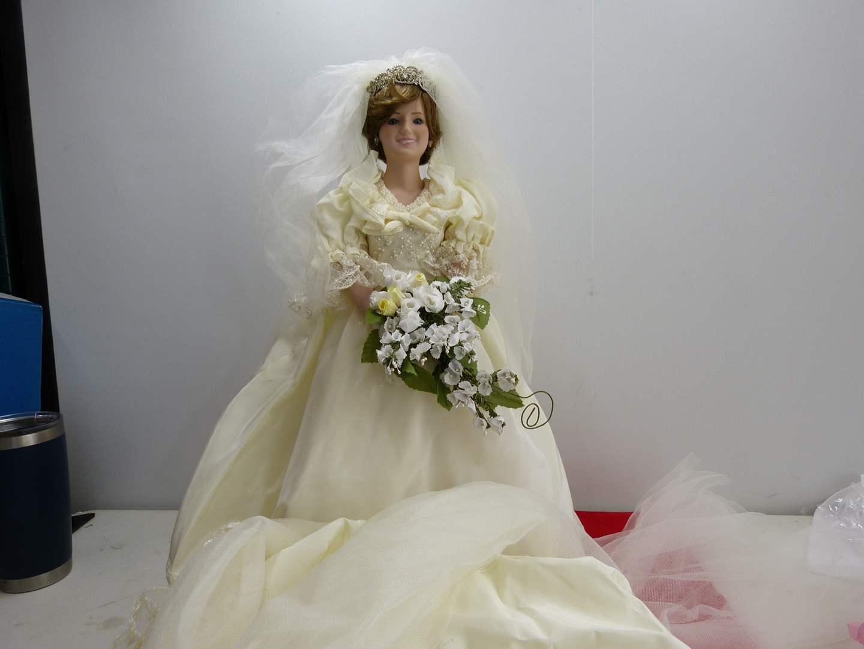 "Lot # 283  Great ""Princess Diane Doll"" by Danbury Mint (main image)"
