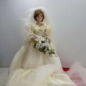 """Lot # 283  Great """"Princess Diane Doll"""" by Danbury Mint"""
