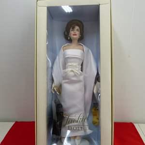 Lot # 296  NEW Jackie Doll w/ accessories