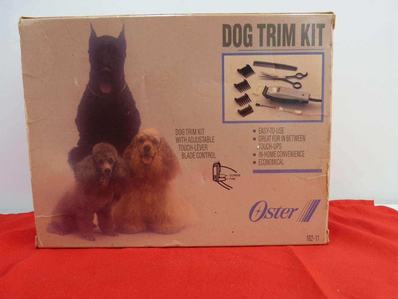 Lot # 211  Vintage Dog Trim Kit (Works great)