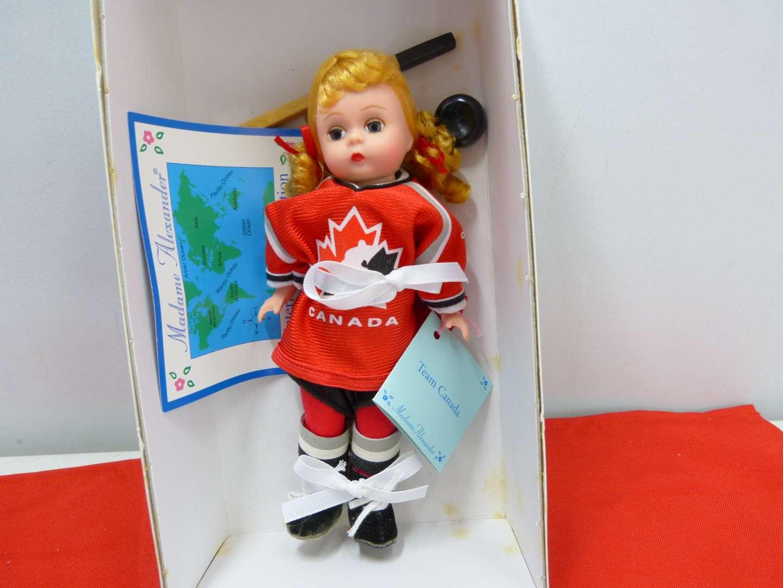 "Lot # 260  New Madame Alexander doll ""Canada"""