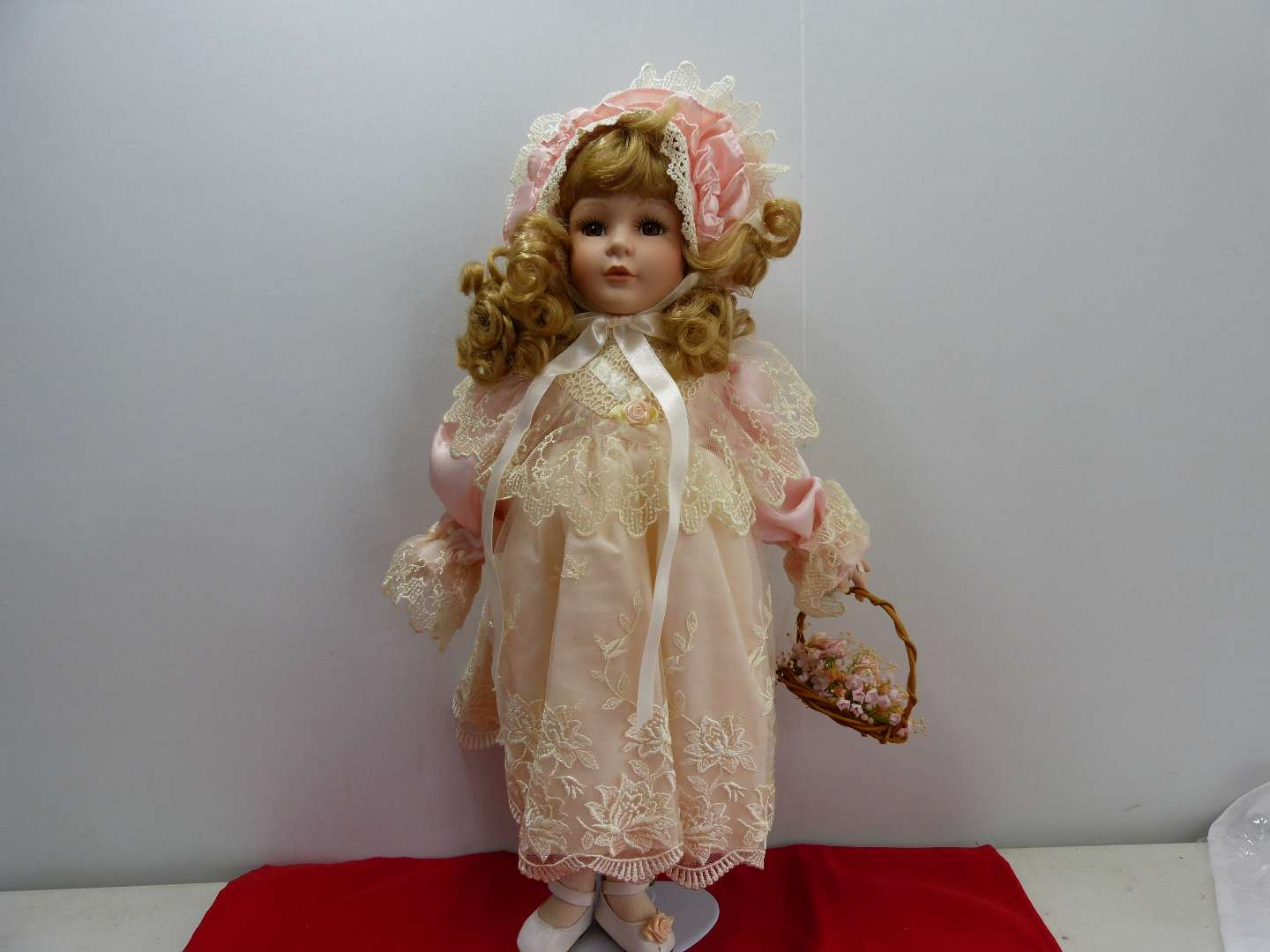 Lot # 287  Cute Victorian style doll by Symore