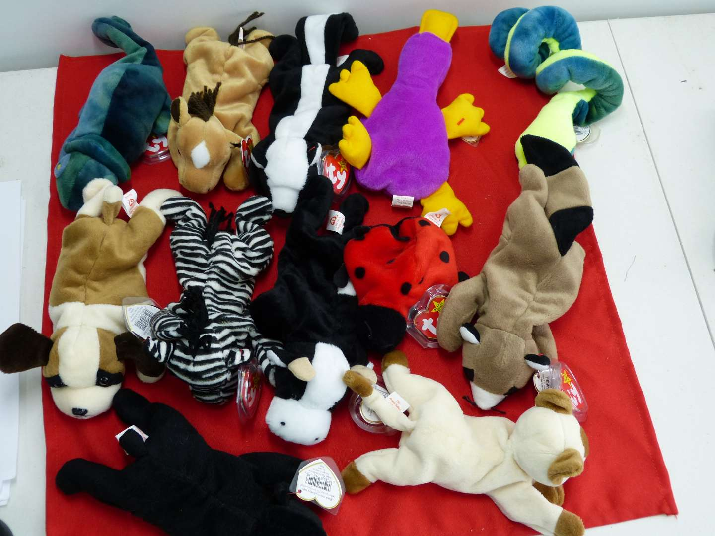 Lot # 309  Large lot of Beanie Babies