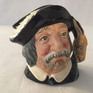 Lot #345 Vintage Royal Doulton Sancho Panca Character Mug