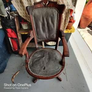 1 antique Victorian Eastlake chair