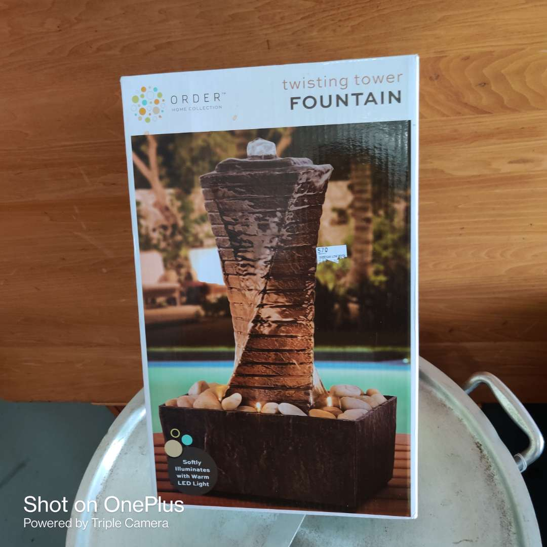 17 brand new fountain in the box never opened