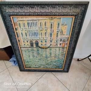 54 Robert Jennings weekly canvas art St Augustine artist 28x33