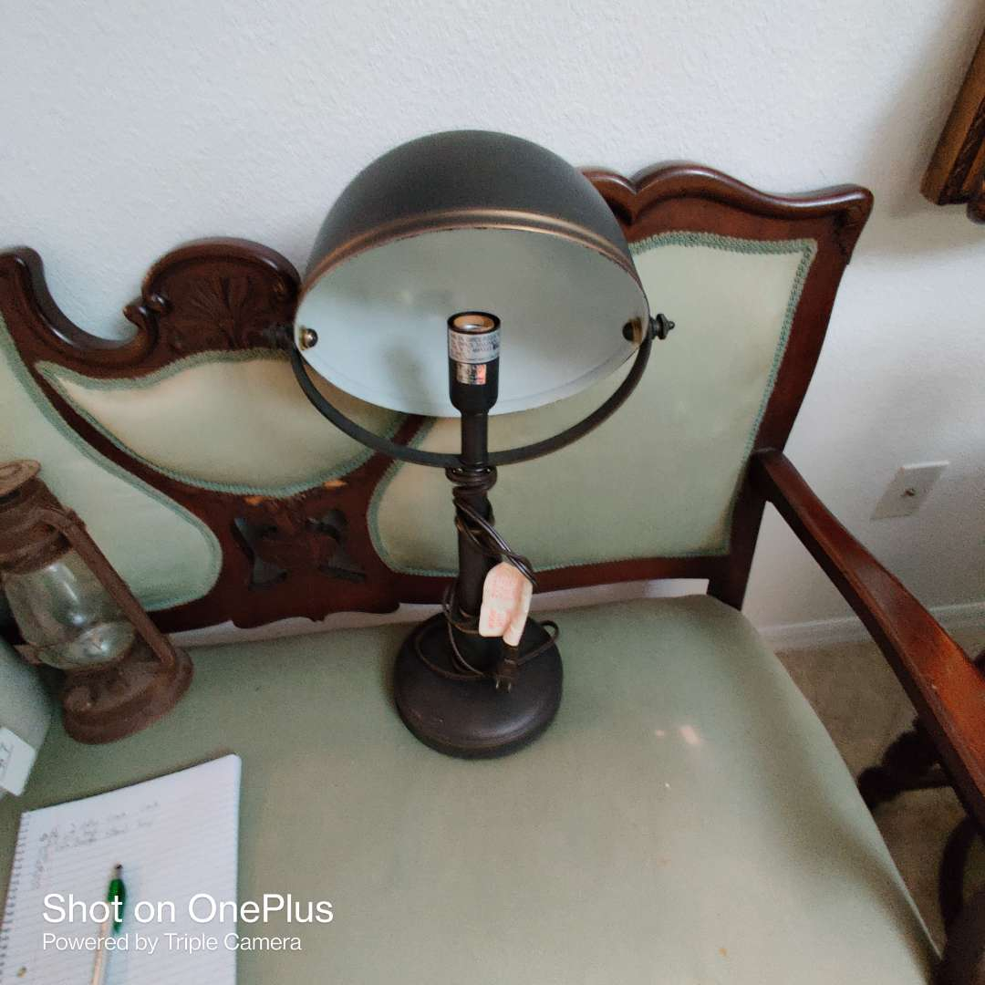 69 industrial steampunk lamp 23 inches tall
