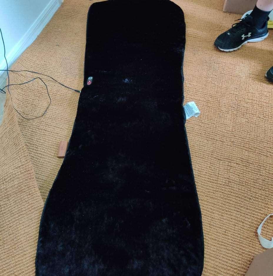 131 very nice massage and heat pad very soft