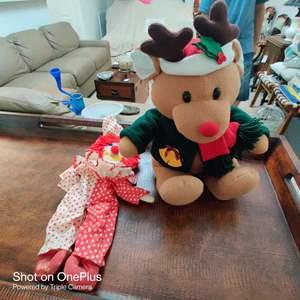 170 to plush animals a bear and raggedy Ann Bojangles
