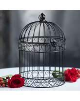 190  wooden birdcage 17 in tall
