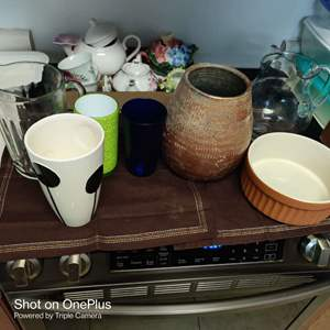 237 miscellaneous lot of pitchers and more seven pieces