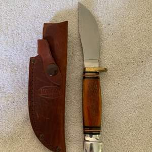 Lot # 3 Beautiful Unused Marbles Knife With Sheath. 1 Of 50. See Below