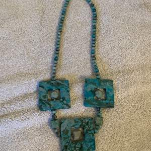 Lot # 5  Gorgeous Heavy Turquoise Necklace