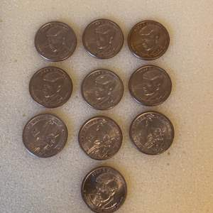 Lot # 11   Lot 10 JF Kennedy 1.00 Coins