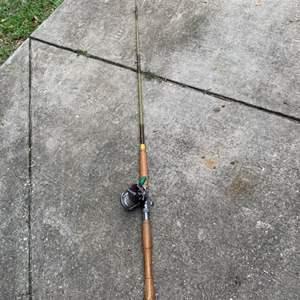 Lot # 16 Vintage Deep Sea Rod With Clean Working Penn Peer #209 Reel