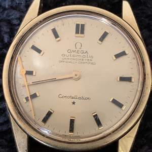 Lot # 45 Authentic Vintage Men's Omega Automatic Constellation Watch. See Below