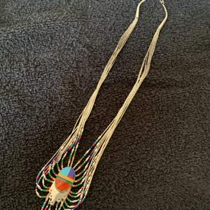 Lot # 47 Incredibly Gorgeous Sterling Silver Signed T.Spencer Native American Necklace. See Below
