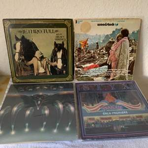 Lot # 68 Great Lot (4) Vintage Vinyl. Please see Lot #7 For Vinyl Descriptions