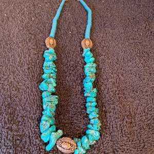 Lot # 74   Gorgeous Turquoise Nugget Necklace