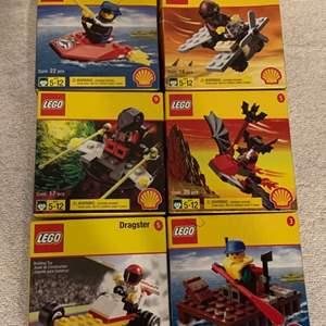 Lot # 84   Lot 6 Assorted NIB LEGOS Shell Gas Promotion. 1998