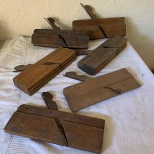 Lot # 107 Nice Collection Antique 6 Molding Planes.
