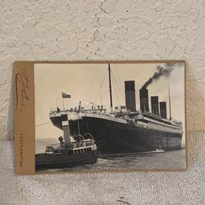 Lot # 134 Great Real Photo Of The Titanic. See Lot 132 Description