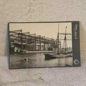 Lot # 135 Great Real Photo Of The Titanic. See Lot 132 Description