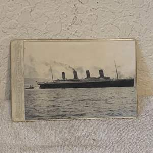 Lot # 136 Great Real Photo Of The Titanic. See Lot 132 Description