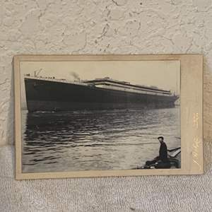 Lot # 138 Great Real Photo Of The Titanic. See Lot 132 For Description