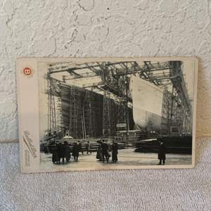 Lot # 141  Great Real Photo Titanic & Olympic. See lot 132 Description