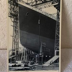 Lot # 145 Great Real Photo Titanic. See 132 Description