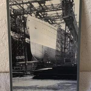Lot # 146  Great Real Photo Olympic & Titanic. See 132 Description