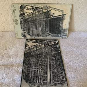 Lot # 148 2 Great Real Photos Building The Titanic. See 132 Description