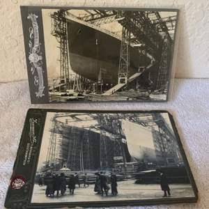 Lot # 149 2 Great Real Photos Titanic. See 132 Description